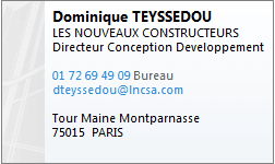 Teyssedou Dominique