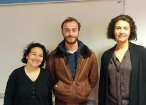 Katia Barbier-Puente, Eloi Gilibert et Valérie Caillard