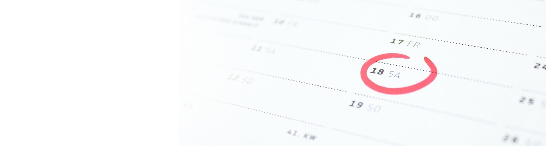 Header dates rentrées