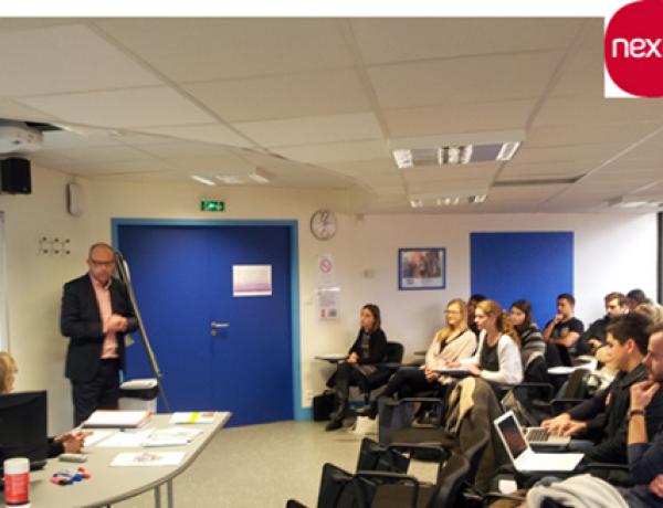 Campus Nantes – Conférence « Le métier d'aménageur »: Jean-Yves CADIET, Directeur Général Région Nord-Ouest NEXITY Foncier Conseil
