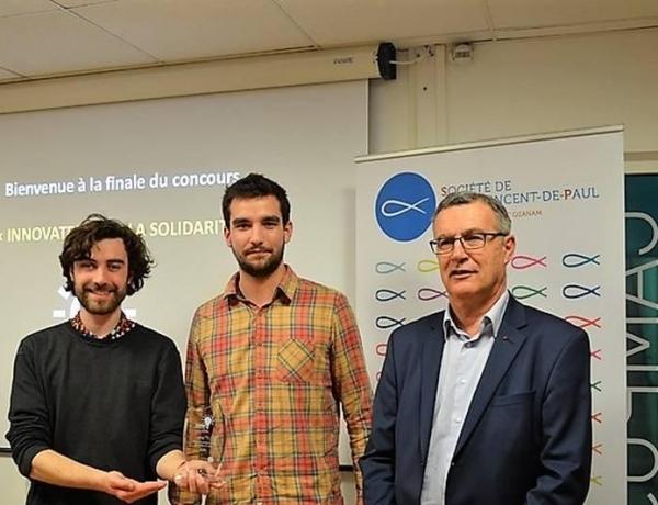 NANTES : un étudiant récompensé au concours «Innovate» !