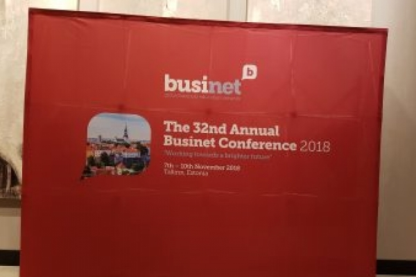 Groupe ESPI present at the 32nd Annual Businet Conference in Tallinn (Estonia)