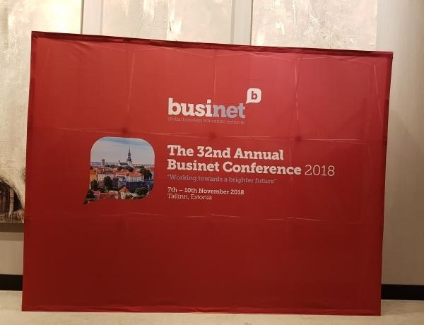 Le Groupe ESPI présent au 32ème congrès Businet à Tallinn (Estonie)