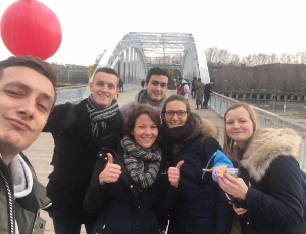 PARIS : visite annuelle de notre partenaire belge VIVES !