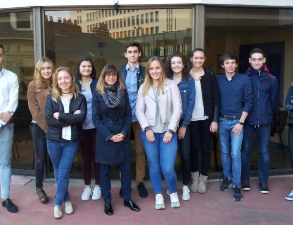 Rentrée des Bachelors 1ère et 2ème année sur le Campus de Nantes !