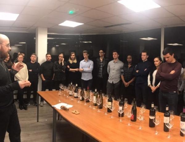 PARIS : «le vin les yeux fermés» 2ème édition par ESPI Oenologie !