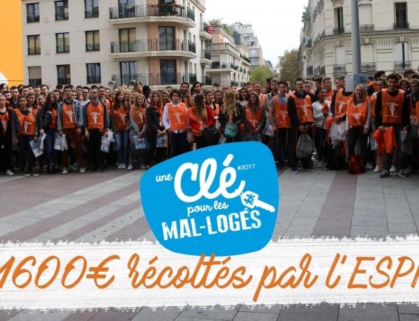 PARIS: bilan de l'action Habitat & Humanisme 2017!