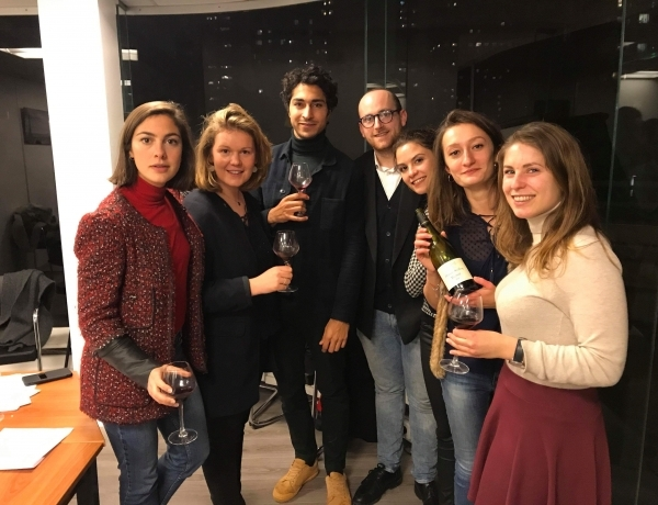 PARIS : première dégustation pour l'association ESPI Oenologie !