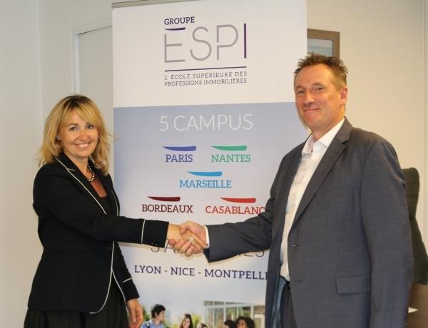 Le Groupe ESPI signe un partenariat avec Fleuron Immobilier !