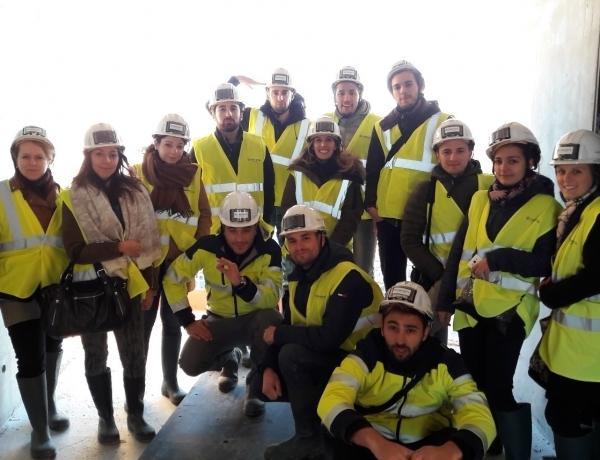 MARSEILLE : Visite du chantier « La Marseillaise »