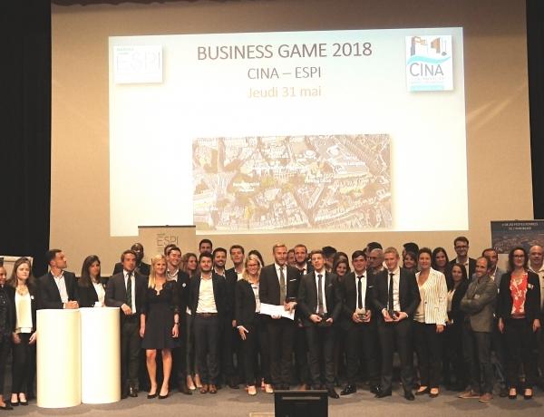 NANTES : BUSINESS GAME 2018
