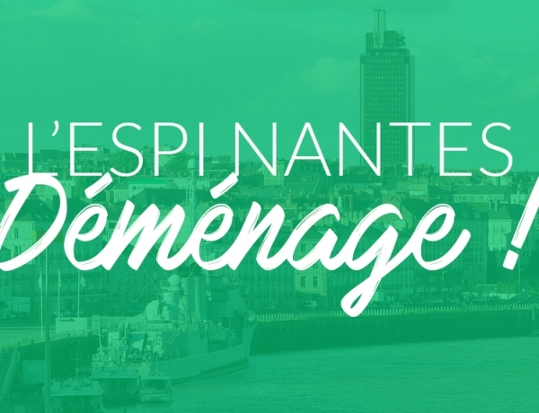 Le campus de l'ESPI Nantes déménage pour la rentrée 2017 !