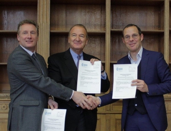 L'ESPI signe un partenariat avec l'école d'architecture de Nancy !