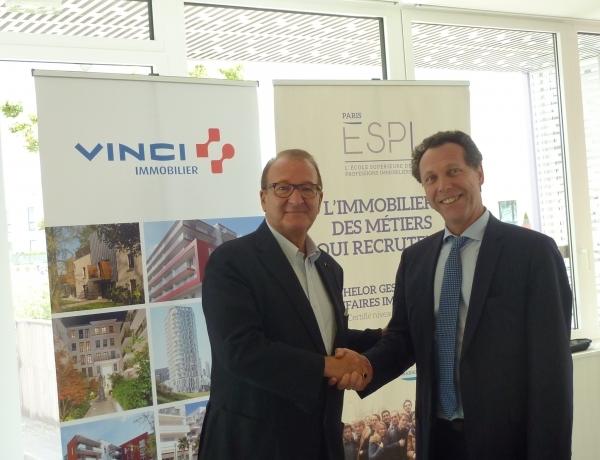 Partenariat Vinci Immobilier et le Groupe ESPI