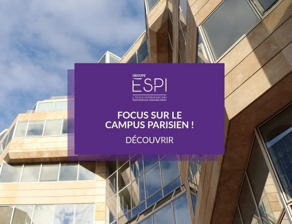 FOCUS CAMPUS   Découvrez notre campus parisien !