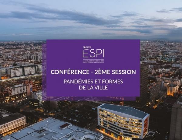 GROUPE | Assistez à la 2ème partie de notre Conférence «Pandémies & formes de la ville»