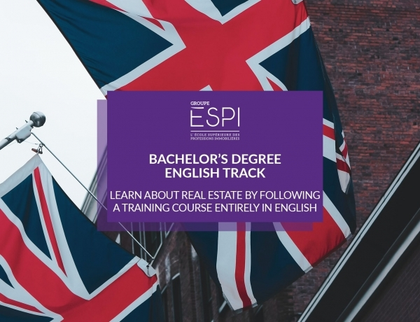 TRAINING | English Track, learn about real estate by following a training course entirely in English