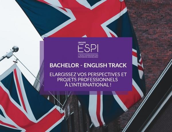 FORMATION   Elargissez vos perspectives et projets professionnels à l'international, grâce à notre cursus English Track !