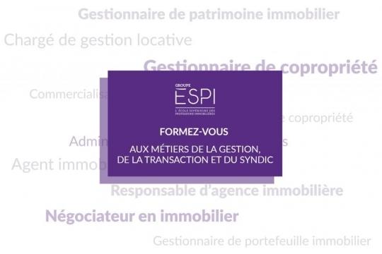 FORMATION   Formez-vous aux métiers de la gestion, de la transaction & du syndic, grâce à notre Bachelor GESAI !