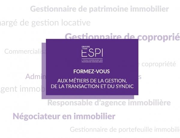 FORMATION | Formez-vous aux métiers de la gestion, de la transaction & du syndic, grâce à notre Bachelor GESAI !
