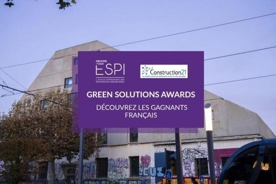 GREEN SOLUTIONS AWARDS   Découvrez les gagnants français