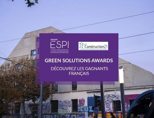 GREEN SOLUTIONS AWARDS | Découvrez les gagnants français