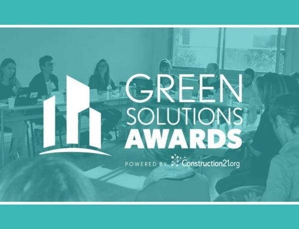 GROUPE | Nos étudiants participeront à la sélection des lauréats des Green Solutions Awards 2020-2021 !