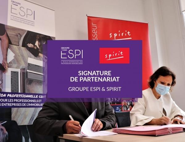 PARTENARIAT | Spirit s'associe à nos côtés pour former les jeunes talents à l'immobilier de demain !