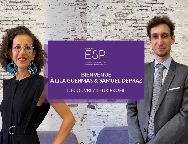 COLLABORATEURS | Bienvenue à Lila GUERMAS, Directrice de l'Enseignement & Samuel DEPRAZ, Directeur de la Recherche