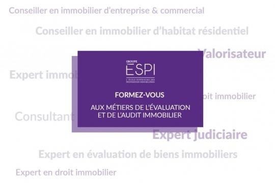 FORMATION   Formez-vous aux métiers de l'évaluation et de l'audit immobilier grâce à notre spécialisation MAEC