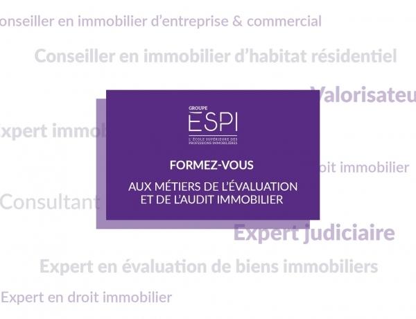 FORMATION | Formez-vous aux métiers de l'évaluation et de l'audit immobilier grâce à notre spécialisation MAEC