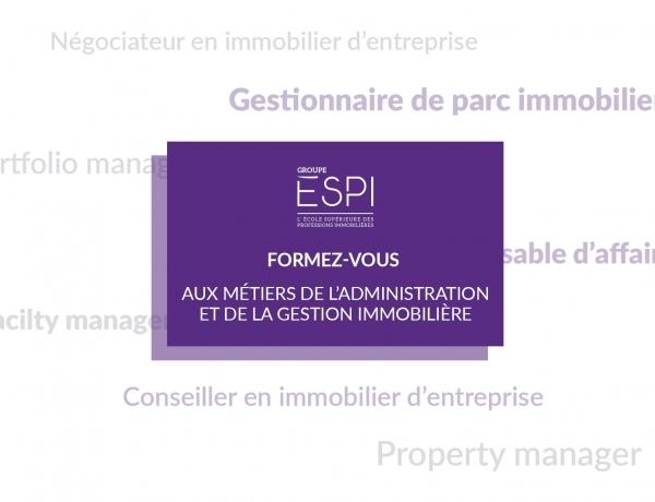 FORMATION | Formez-vous aux métiers de la gestion et de l'administration immobilière grâce à notre spécilisation MAGI !