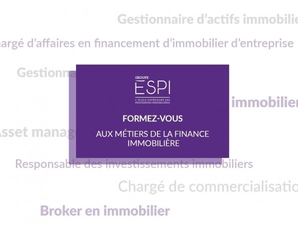 FORMATION | Formez-vous aux métiers de la finance immobilière grâce à notre spécialisation MIFIM !