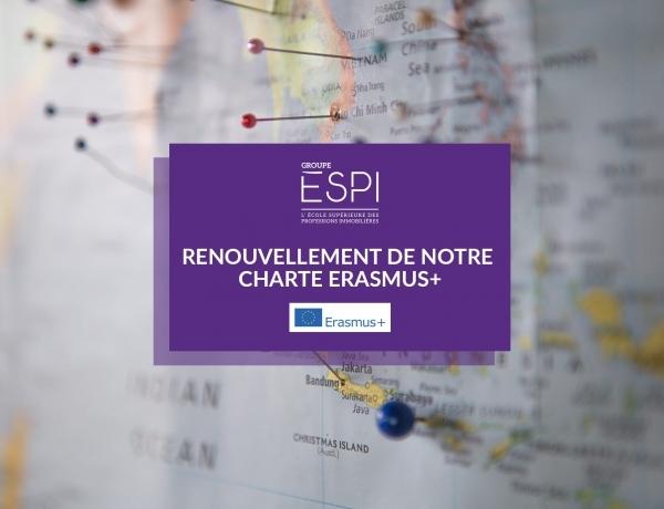 INTERNATIONAL | La Commission Européenne renouvelle notre Charte Erasmus+ jusqu'en 2027