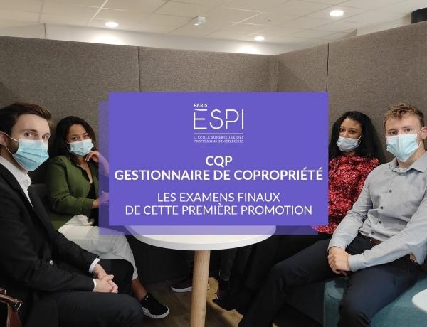 PARIS | Fin de la semaine d'examen pour les apprenants du CQP «Gestionnaire de Copropriété»