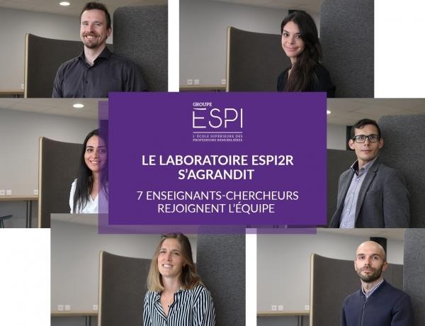 RECHERCHE | En cette rentrée 2021, 7 nouveaux enseignants-chercheurs rejoignent le laboratoire ESPI2R
