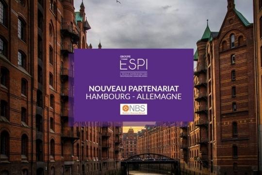 INTERNATIONAL | Nouveau partenariat Erasmus+ avec NBS Northern Business School en Allemagne !