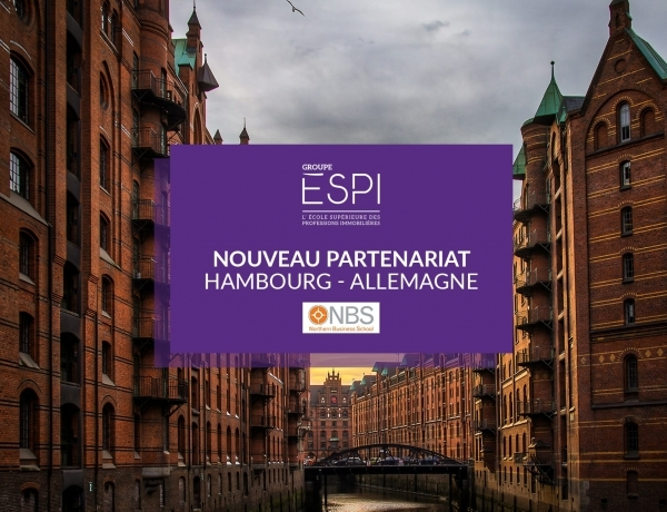INTERNATIONAL | Nouveau partenariat Erasmus+ avec NBS Northern Business School en Allemagne !