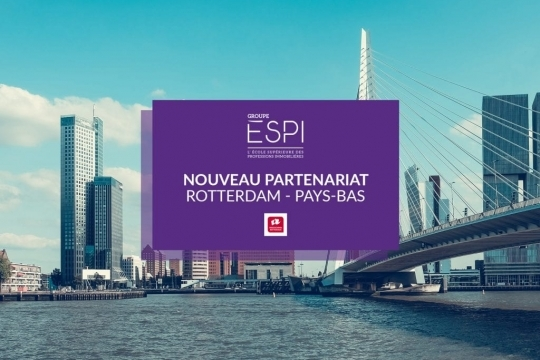 INTERNATIONAL | New ERASMUS+ partnership with the Rotterdam University of Applied Sciences in Netherlands!