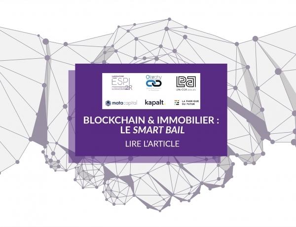 ÉVÉNEMENT | Table ronde «Blockchain & Immobilier: le smart bail» par le laboratoire ESPI2R et ses partenaires !