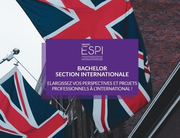 FORMATION | Elargissez vos perspectives et projets professionnels à l'international, grâce à notre Bachelor – section internationale !