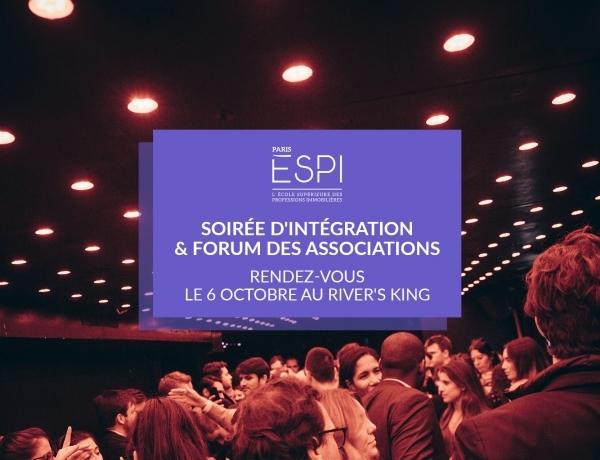 PARIS | Prends ta place pour la Soirée d'intégration et le Forum des associations !
