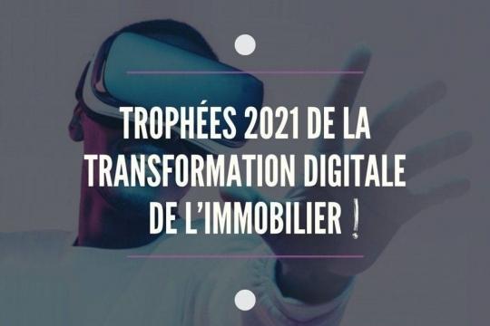 GROUPE   Co-organisateur de la 2ème édition des Trophées de la Transformation Digitale de l'Immobilier