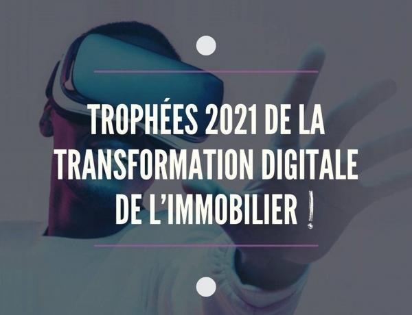 GROUPE | Co-organisateur de la 2ème édition des Trophées de la Transformation Digitale de l'Immobilier