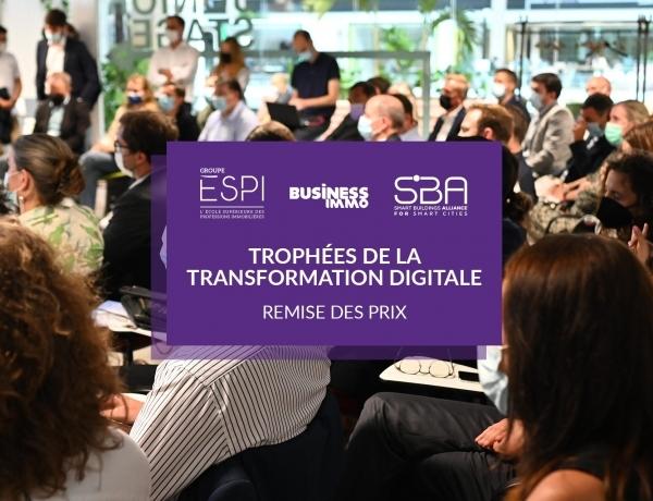 GROUPE | Retour sur la remise des prix des Trophées de la Transformation Digitale de l'immobilier