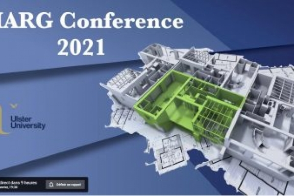 RECHERCHE   Participation de Federica APPENDINO à la Conférence annuelle AIARG organisée par l'University of Ulster de Belfast