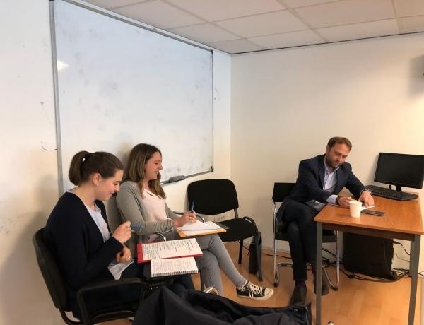 PARIS : Table Ronde avec l'entreprise BÉCARRÉ