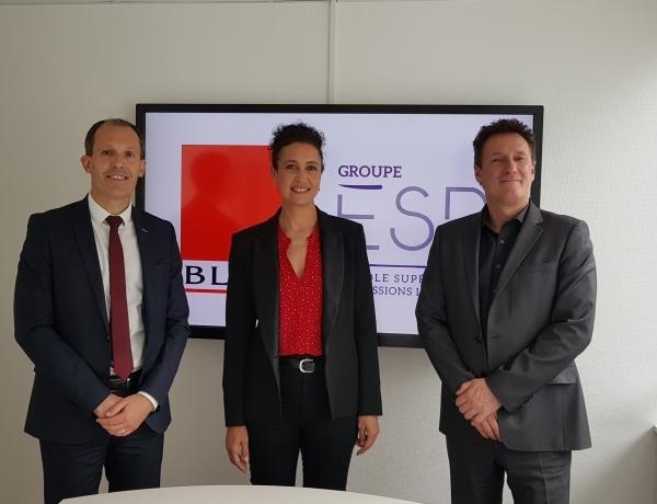 NANTES – Le Groupe ESPI signe un partenariat avec le Groupe BLOT Immobilier