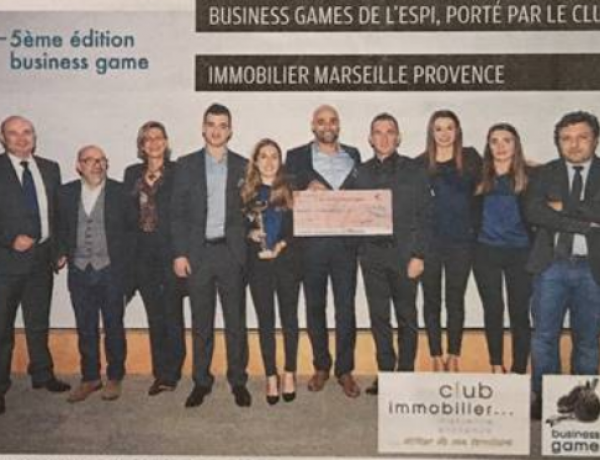 Challenge – 6ème Business Games pour le campus Marseille !