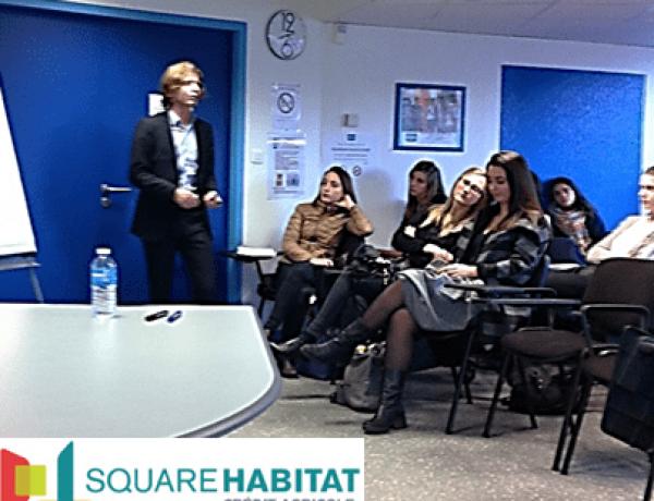 Conférence « La négociation immobilière » pour le campus de Nantes
